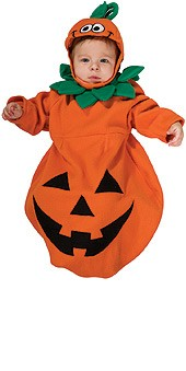 Newborn Pumpkin Bunting
