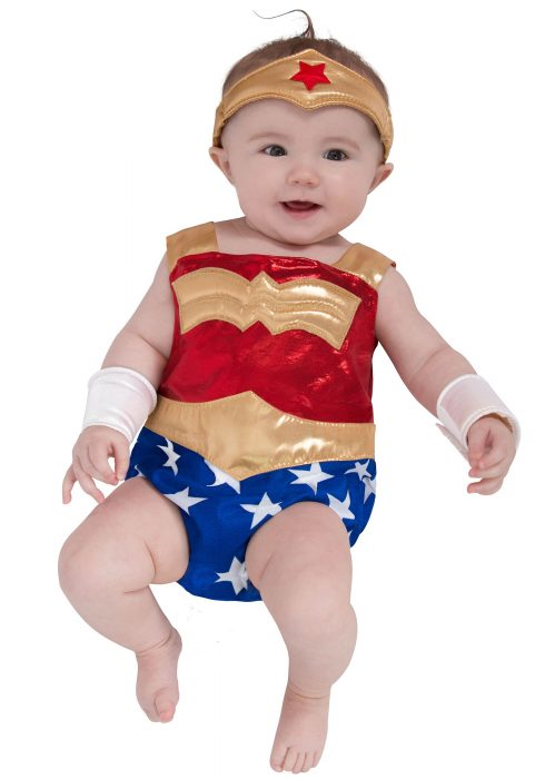 Newborn Wonder Woman Costume