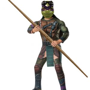 Ninja Turtle Movie Child Deluxe Donatello Costume