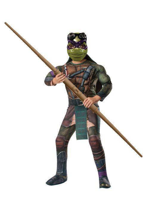 Ninja Turtle Movie Child Deluxe Donatello Costume
