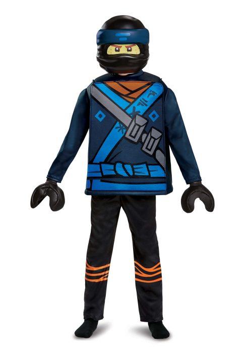 Ninjago Movie Jay Deluxe Boys Costume