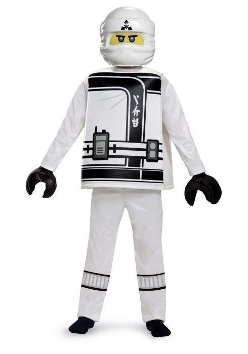 Ninjago Movie Zane Deluxe Boys Costume