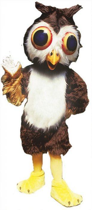 Oliver Owl Mascot Costume