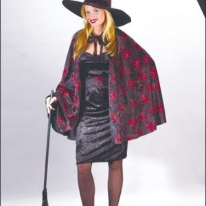 Orange Glitter Chip Witch Costume