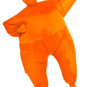 Orange Inflatable Skin Suit Costume