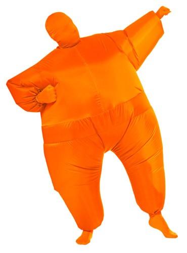 Orange Inflatable Skin Suit Costume
