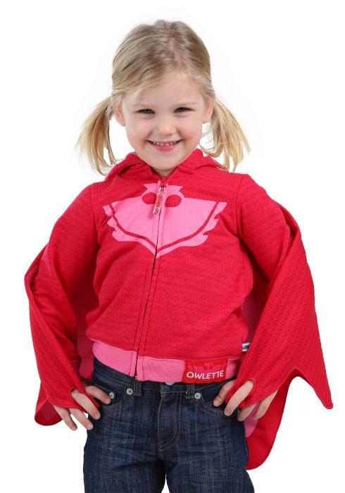 PJ Masks Owlette Toddler Girls Costume Hooded Sweatshirt