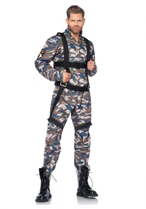 Paratrooper Adult Men's Costume