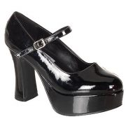 "Patent ""Leather"" Mary Janes"