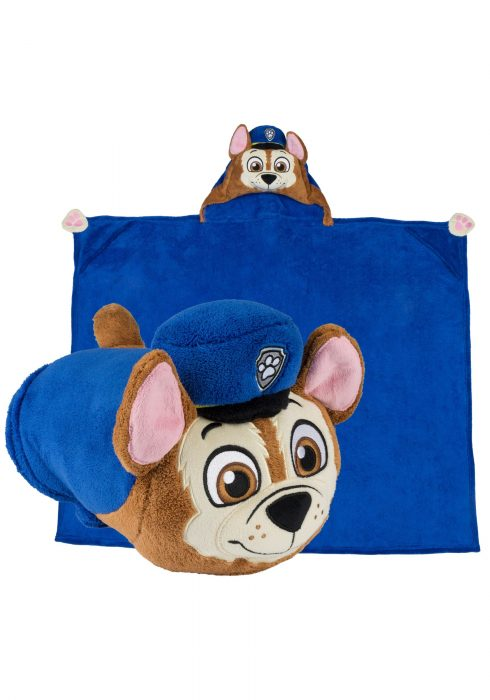 Paw Patrol Chase Comfy Critter Blanket