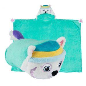 Paw Patrol Everest Comfy Critter Blanket