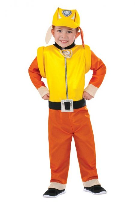 Paw Patrol Rubble Costume