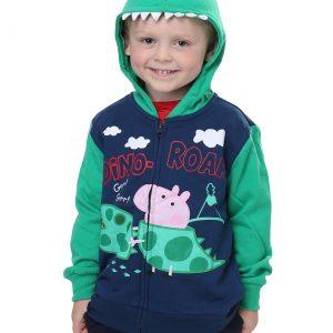 Peppa Pig George Pig Dino-Roar Boys Hoodie