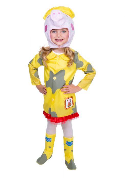 Peppa Pig Raincoat Costume
