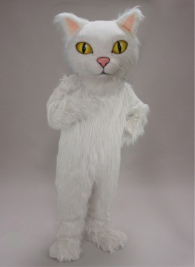 Persian Cat Mascot Costume