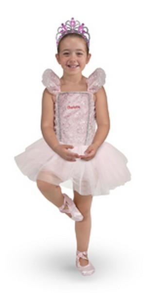 Personalized Ballerina Costume Set