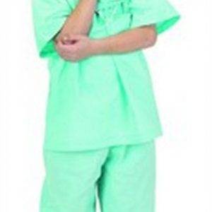 Personalized Child Doctor Scrubs Costume - Green