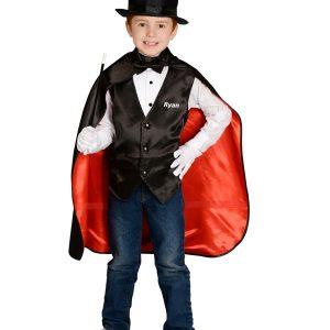 Personalized Child Magician Costume