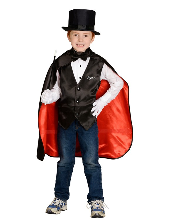 Personalized Child Magician Costume