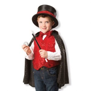 Personalized Magician Costume Set