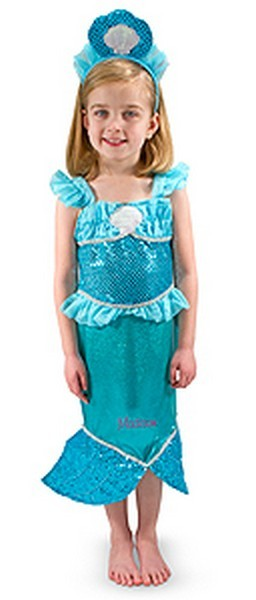 Personalized Mermaid Costume Set