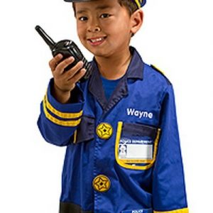 Personalized Police Office Costume Set