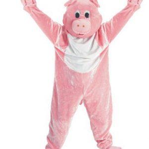 Pig Mascot Costume