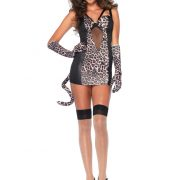 Pin Up Leopard Kitty Costume