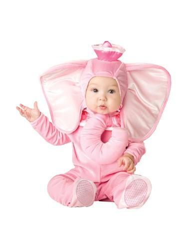 Pink Baby Elephant Costume