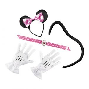 Pink Minnie Mouse Costume Kit