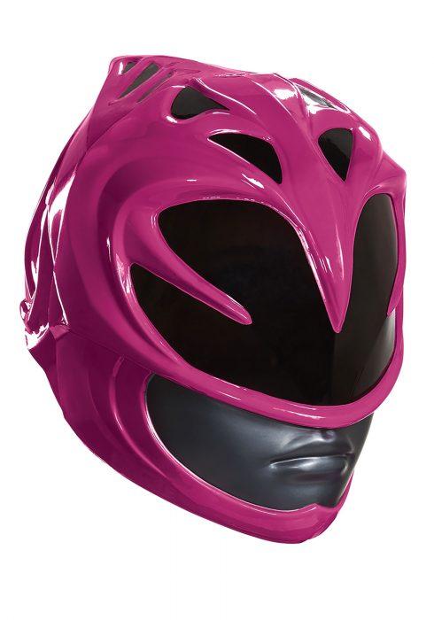 Pink Ranger Movie Adult Helmet