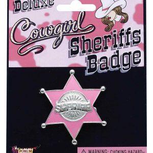 Pink Sheriff Badge