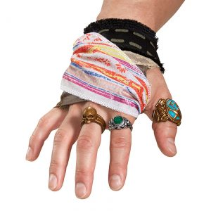 Pirates of the Caribbean Jack Sparrow Hand Accessory Set