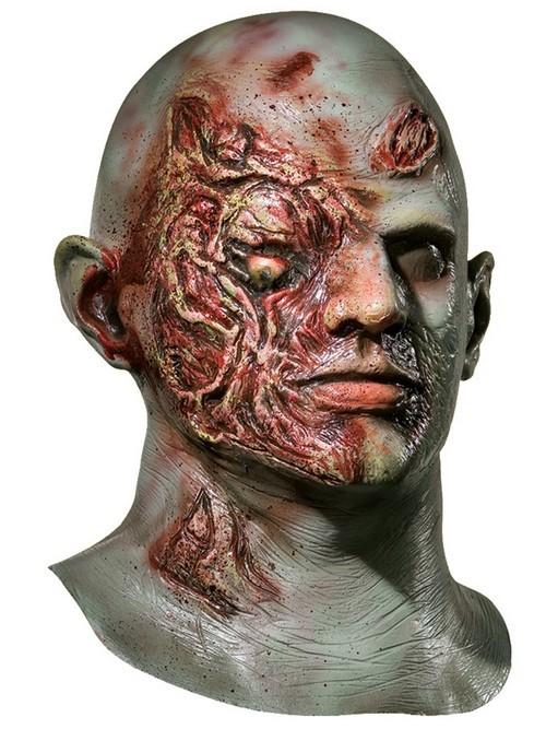 Plaid Boy Halloween Mask