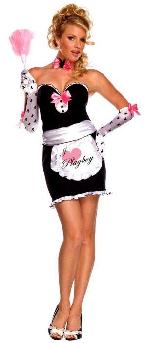Playboy Mansion Maid Costume