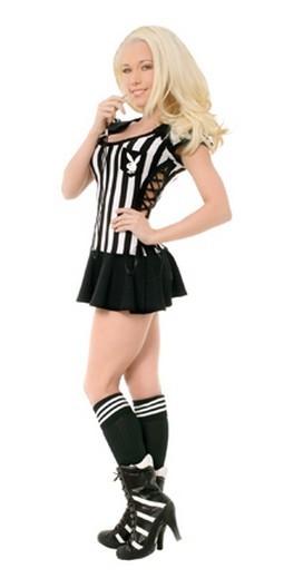 Playboy Racy Referee Costume