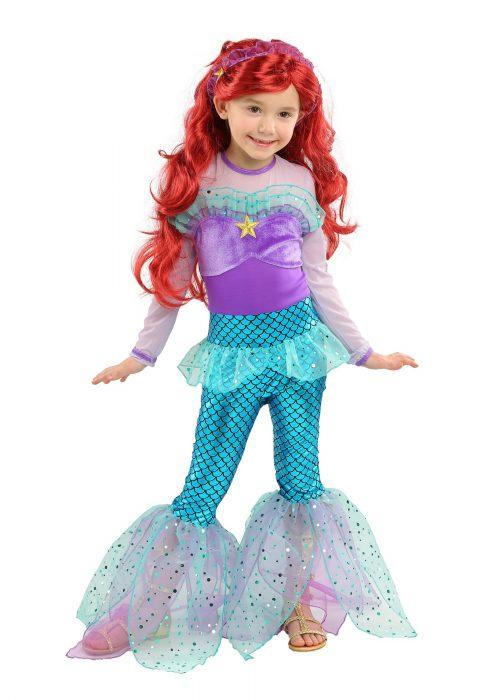 Playful Mermaid Girls Costume