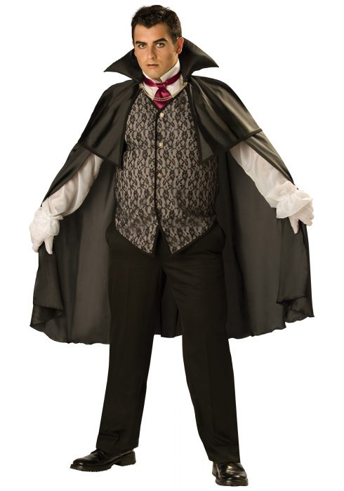 Plus Midnight Vampire Costume