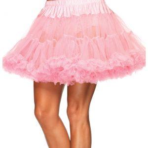 Plus Pink Layered Tulle Petticoat