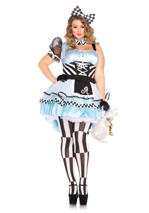Plus Psychedelic Alice Costume