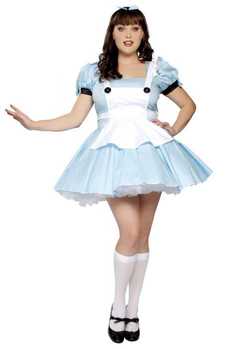 Plus Size Alice Costume