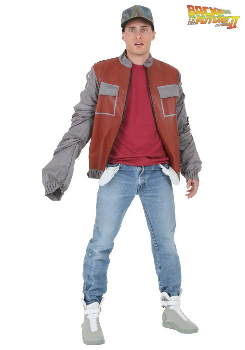 Plus Size Back to The Future II Marty McFly Jacket
