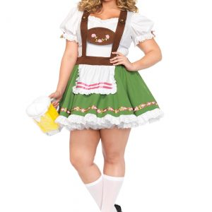 Plus Size Beer Garden Darling Costume