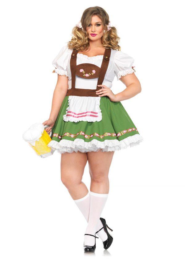 Plus Size Beer Garden Darling Costume