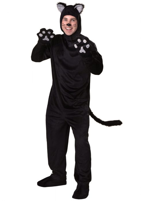 Plus Size Black Cat Costume