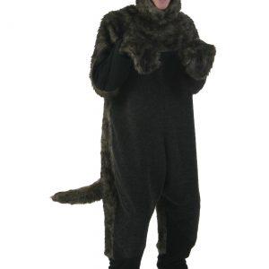 Plus Size Black Dog Costume