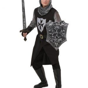 Plus Size Black Knight Costume