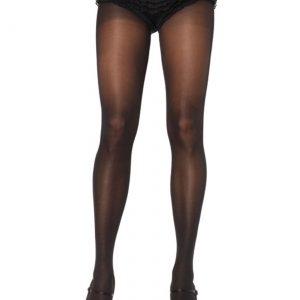 Plus Size Black Pantyhose