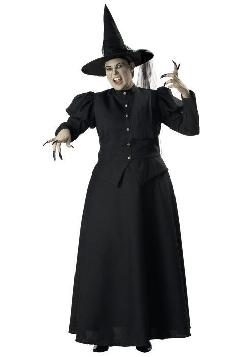 Plus Size Black Witch Costume