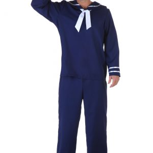 Plus Size Blue Sailor Costume